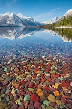 Lake McDonald, Glacier National Park, Montana...Must see this lake!