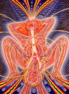 Childbirth by Alex Grey