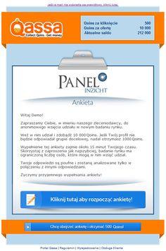 Przykład e-maila dot. Ankiety