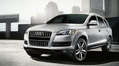 Audi Q7. This car is sexy.
