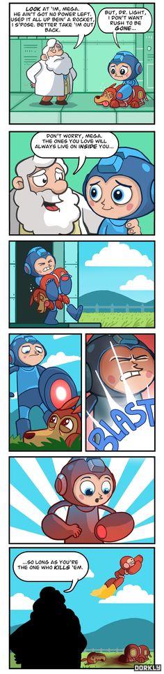 Ol' Rush - Dorkly Comic