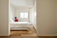 Design apartamento de 40 metros quadrados | móveis e Decoração de interiores