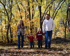 Fall Family Portraits Reflections Photography www.nicholeross.com