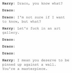 Damn he got you there Draco Harry Potter Comics, Harry Potter Puns, Harry Potter Draco Malfoy, Harry Potter Ships, Harry Potter Universal, Harry Potter World, Harry Potter Hogwarts, Drarry, Dramione