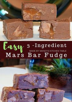 Easy Mars Bar Fudge Recipe One Sweet Treat