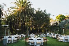 Romantic Outdoor Wedding Reception with round tables at the Houdini Estate, Houdini Mansion Wedding, Art & Soul Events, Rad + in Love