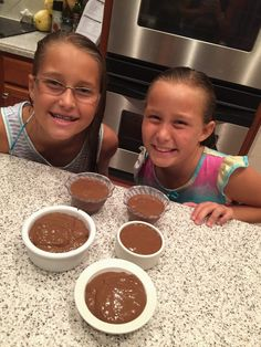 Kid Approved Clean Chocolate Pudding!