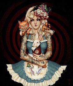 Energetic Ooak Art Doll Alice In Wonderland Cheshire Cat-ooak Bear-ooak Cat-cheshire Cat Let Our Commodities Go To The World Artist