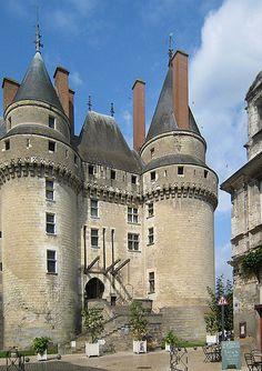 Château de Langeais, 37130 Langeais, Indre-et-Loire, Région Centre - Château France. Crédits photos : Manfred Heyde, Claude villetaneuse et Tango7174