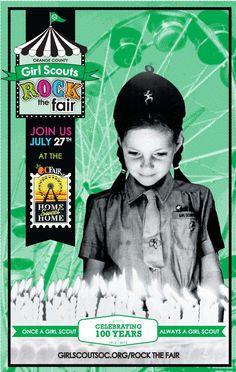 Girl Scouts 100th Anniversary Orange County CA
