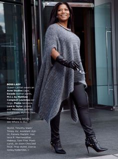 5 ways to wear a sweater without looking frumpy - Page 4 of 5 - plussize-outfits.com