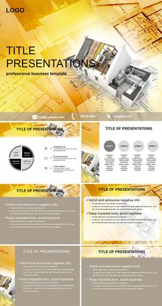 House Plans PowerPoint templates
