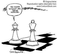 #Chess, strong women cartoons