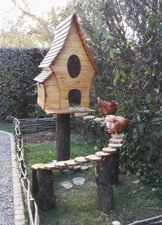 Image result for chicken coop from bamboo #DIYchickencoopplans #ChickenCoopPlans