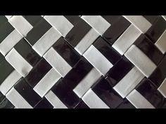 Raitapunos lappujen taivuttelu - Hvordan man folder stribeflet lapper - YouTube