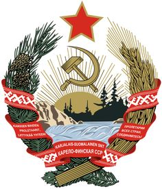 Coats of Arms of Communist States - Emblem of the Karelo-Finnish SSR