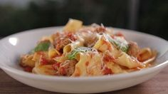 Pappardelle with Lazy Meatballs | Shine Food - Yahoo Shine