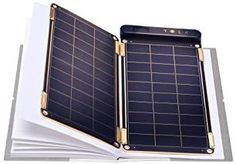 Amazon.com: Solar Paper + Pouch, Paper-thin and Light Portable Solar Charger with Ultra-High-Efficiency (5W): Cell Phones & Accessories