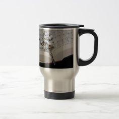 rosary music book travel mug - travel mugs gift idea custom diy unique