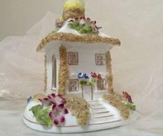 Coalport Bone China Summer House. Made in England by MerryLegsandTiptoes on Etsy