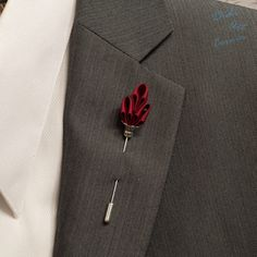 A personal favorite from my Etsy shop https://www.etsy.com/listing/248457154/mens-lapel-stick-pin-elegant-handcrafted