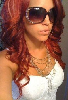 bad girls club. loved her bright red hair, but this is cute too!