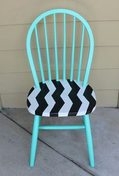 Give your old unused chairs a make over!