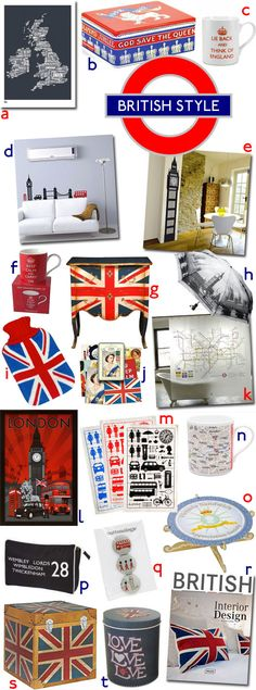The Best Of British Style - Need to hav at least one of these