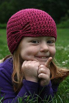 Free Butterfly crochet hat pattern free-crochet