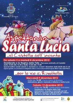 A Desenzano del Garda tutti i bambini sono invitati all'iniziativa Aspettando Santa Lucia prevista nei giorni dal 5 al 12 dicembre 2015 @gardaconcierge