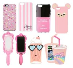 """girly phone cases"" by girlyux ❤ liked on Polyvore"