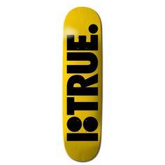 Plan B Team True Skateboard Deck - Yellow - Skate Decks, Skateboard Decks, Complete Skateboards, Mobile Cases, Skates, Yellow, Blue, How To Plan, Skateboarding