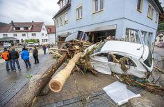 Der ganze Ort steht unter Schock. Foto: 7aktuell.de/Adomat