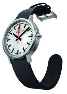 Mondaine Stop2Go Swiss Railways Watch With 2 Second Delay #watch #mondaine