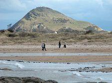 North Berwick Scotland: North Berwick Law- Berwick Law from the North West