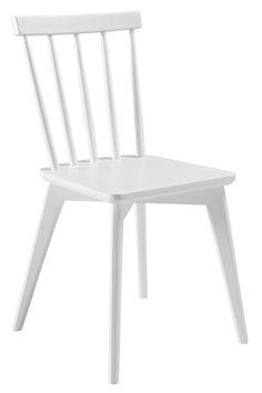Ellos Home Pinnstolar Linköping 2-pack Dining Chairs, Interior, Furniture, Home Decor, Vit, Decoration, Style, Decor, Swag