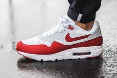 "Nike Air Max 1 Ultra Essential ""OG Red"" - EU Kicks: Sneaker Magazine"