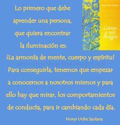 NORYS URIBE SANTANA: REFLEXIONES DE VIDA Nº 49 LA ARMONIA DE MENTE CUERPO Y ESPIRITU