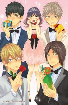 Anime Love, Me Me Me Anime, Kiss Him Not Me, Manga Anime, Anime Art, Inuyasha Fan Art, Comedy Anime, Girls Anime, Pastel Background Wallpapers