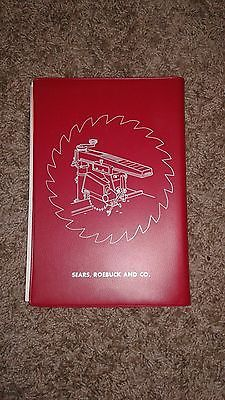 Vintage sears craftsman radial arm saw know how how to manual  book 1969