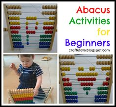 Craftulate: Abacus Activities for Beginners