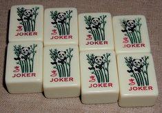 Red Coin Mah Jong First Edition 2007, The Premier Set: Joker tiles