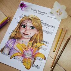 Healing Incantation [feat. Rapunzel] (Music by DoughtyCreARTive @Instagram) #Tangled