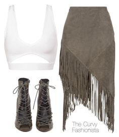 """Untitled #579"" by thecurvyfashionista ❤ liked on Polyvore featuring W118 by Walter Baker and Rebecca Minkoff"