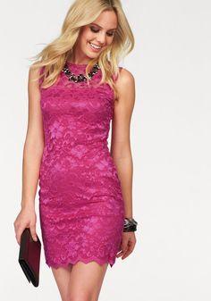 Melrose Spitzenkleid im Online Shop von Ackermann Versand #Fashion #Mode Bodycon Dress, Formal Dresses, Tops, Cotton, Fashion, Dress Up Clothes, Body Con Dress, Lace, Sparkle