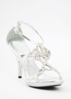 Wedding Shoes Silver With 3 5 Heels And 1 2 Platform Style 800