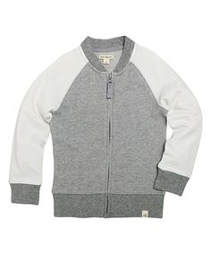 Look what I found on #zulily! Heather Gray Organic Jacket - Infant, Toddler & Boys #zulilyfinds