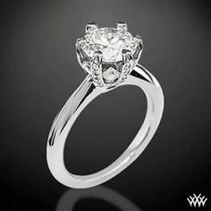 Ritani 1RZ3277 6 Prong Solitaire Engagement Ring