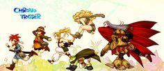 Tags: SQUARE ENIX, Chrono Trigger, Marle, Kaeru, Magus, Ayla, Lucca Ashtear, Robo, Crono