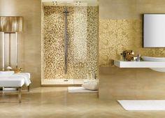 Este es segundo cuarto de baño con ducha. Me gusta mucho porque me encanta el mosaico